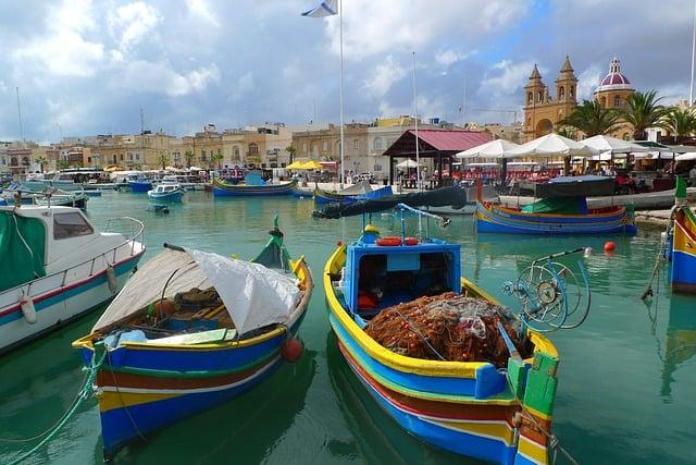 Malta-Valetta-Urlaub-Schiffe-Hafen