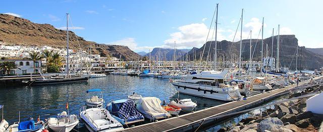 Gran-Canaria-Spanien-Hafen