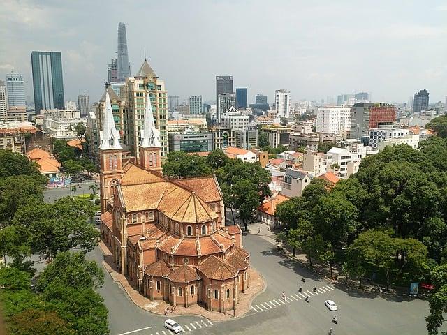 Vietnam-Ho-Chi-Minh-City-Saigon-Kirche