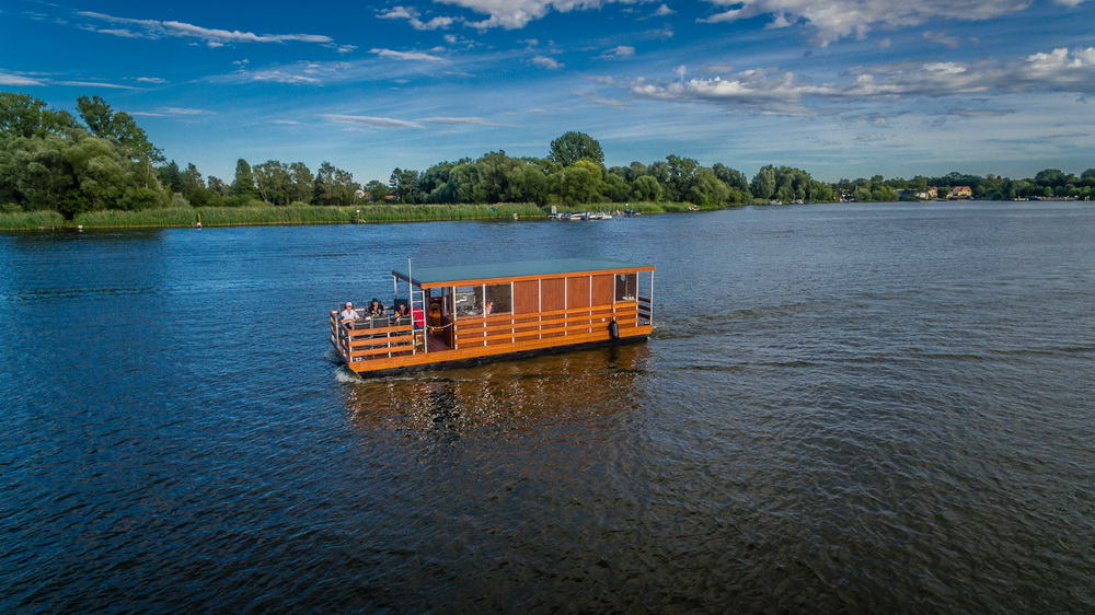 Hausboot-Bild