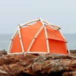 TentTube: Das aufblasbare Zelt, welches in einer Minute aufgestellt werden kann